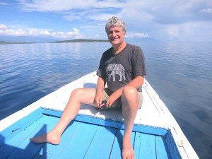 Dave On Scuba Dive Boat in Bali