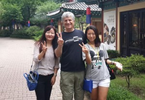 My Able Tour Guides, Hwangju and Sun.