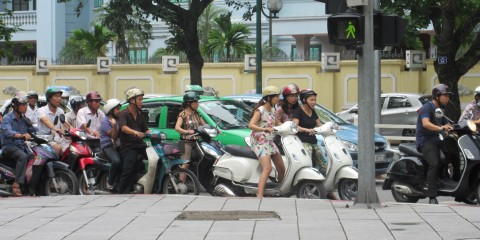 The Magical Choreography of Vietnamese Motorbikes, Cars, Pedestrians and Whatnot