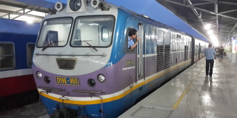 DaNang to Ho Chi Minh City – By Train!