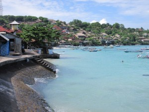 Main town on Nusa Lembongan