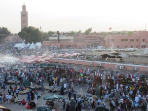 Jemma el-Fnr, main square in Marrakech's old medina